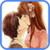 Hot Anime Kissing Love Sticker icon
