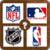 Sport Logo Quizz NBA MBL NHL NFL MLS app for free