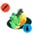 Paint fruits icon