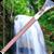 Waterfall Zipper Lock Screen icon