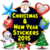 Christmas and New Year Stickers 2015 app for free