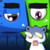Aliens eat cats : puzzle game icon
