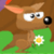 Jumping Kangaroo and Lava icon
