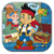 Jake The Pirates Easy Puzzle icon