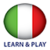 Learn and play Italan free icon