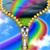Best Rainbow Zipper Lock Screen app for free