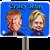 Trump vs Hillary Crazy Run icon