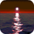 Red Moon Over Sea Live Wallpaper icon