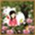 Garden photo frame pic icon
