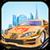 Sports car Drag Race icon