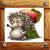 Hedgehog - apple seeker icon