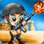 Captain War :  Zombie Killer icon