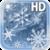 Snowflakes Frozen LWP icon