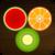 Fruit crush shooter icon