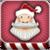 Funny Christmas Farting Santa Claus icon