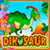 Puzzles with dinosaurs icon