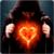 Fire Heart LWP icon