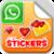 Love Sticker for Valentine Day icon