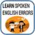 Spoken English Errors app for free