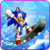 My friends Mario and sonic Toon Skiing app for free