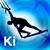 Kitesurf Instructor: Beginner level kiteboarding icon