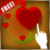 Magic Touch Hearts Live Wallpaper app for free