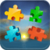 Puzzles for adults sunset icon