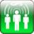 Phone tracker using GPS icon