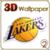 LA Lakers 3D Live Wallpaper FREE app for free