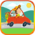 Puzzles for children: cars icon