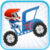 Becak hill climb racing icon