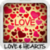Love & Hearts Wallpapers app for free