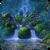 Waterfalls Garden Live Wallpaper icon