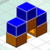3D Crafted puzzle battle icon