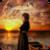 Praying at Sunset Live Wallpaper icon