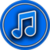 Music Player Blue icon