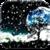 Night Sky Snowfall Live Wallpaper app for free