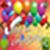 Birthday  maker card photo icon