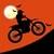 Free Moto Racer Halloween Town icon