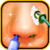 Nose Makeover game app for free