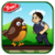 Flappy bird and ninjas Free icon