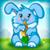 Funny Rabbit Feeding icon