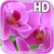 Pink Orchid Live Wallpaper HD icon