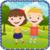 Puzzles for kids: landscape icon
