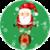Bouncing  Santa Live Wallpaper icon