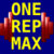 One Rep Max Calculator app for free