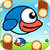 Flappy Blue Bird - The Clever Clumsy Wings is Back app for free