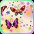 Cute Butterfly Live Wallpaper by Lvdou icon