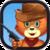 Cat Zombie Shot icon