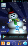 Holiday Snowman Live Wallpaper screenshot 2/3